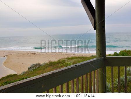 Indian Ocean View from Gazebo: Western Australia