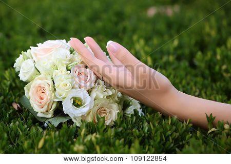 Wedding Bouquet Outdoor