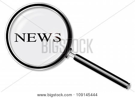 News Magnifying Glass