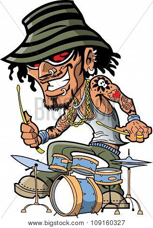 Tattoo Drummer
