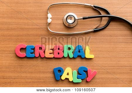 Cerebral Palsy Colorful Word
