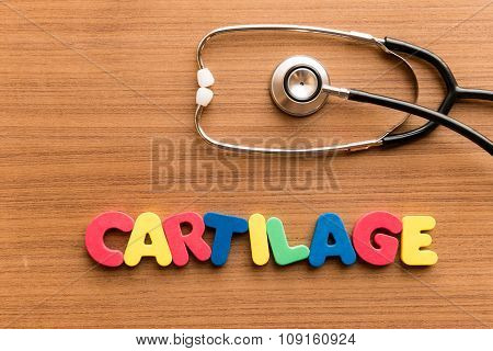 Cartilage Colorful Word