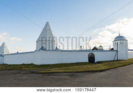 St. Pokrovsky female monastery in Suzdal. Golden Ring of Russia Travel