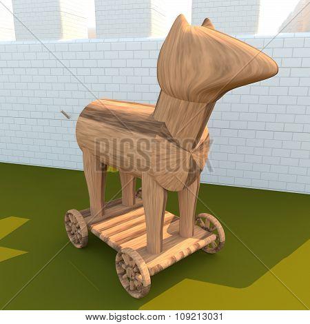 Trojan Horse, 3D