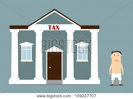 Businessman was left without anything after taxes