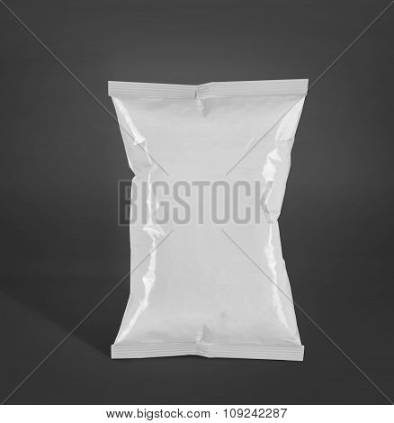 Potato Chips Plastic Packaging Or Food Container