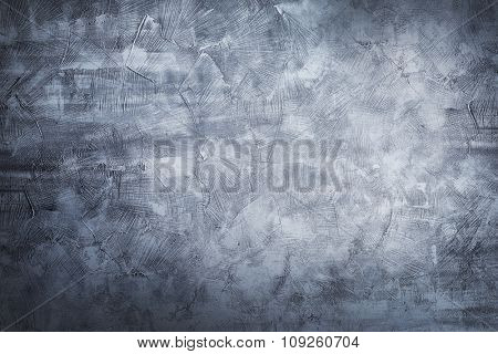 Old concrete texture. Shabby cement background. poster