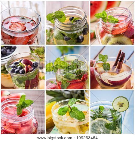 Varian Of Strawberry, Blueberry, Kiwi, Cinnamon, Apple, Mint, An