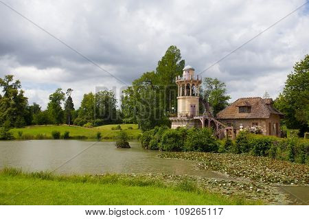 Dovecote In Marie-antoinette's Estate. Versailles