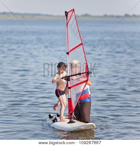 Windsurfing For Little