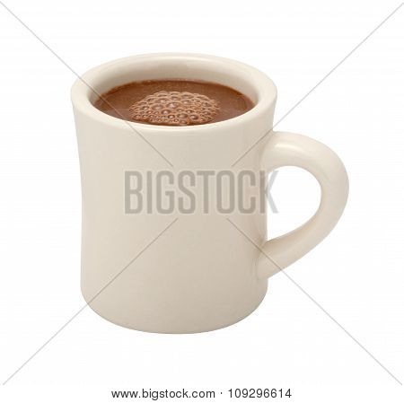 Hot Chocolate Mug Isolated