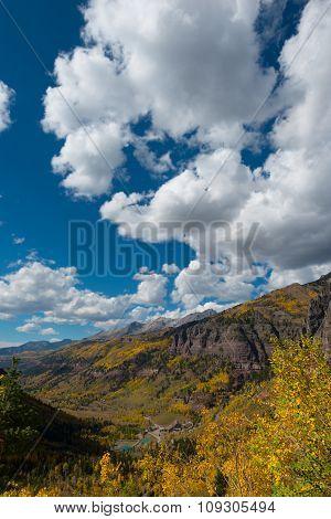 Black Bear Pass Telluride Colorado Fall Colors Autumn Landscape