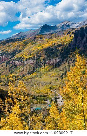 Telluride Fall Colors Colorado Landscape