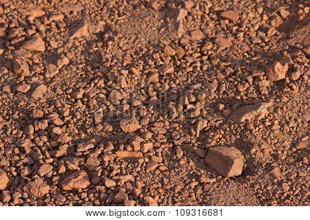Rocky Red Earth