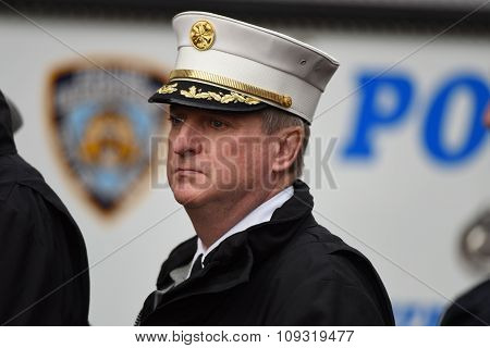 FDNY chief James Leonard