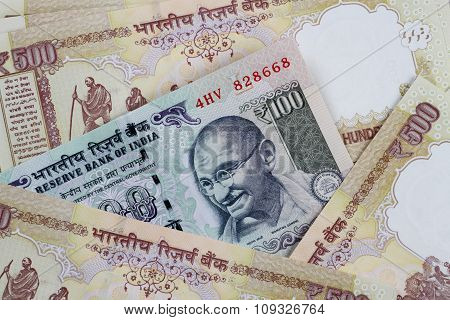 Indian Currency Rupee Notes