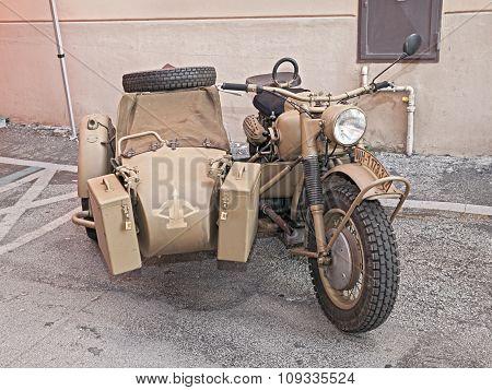 German Military Bike Bmw R75