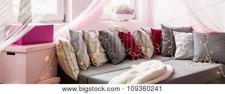 Cozy And Decorative Nook