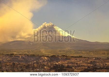 Cotopaxi, The Second Highest Summit In Ecuador