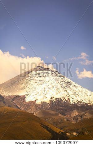 Cotopaxi One Of Ecuador Most Active Volcanoes
