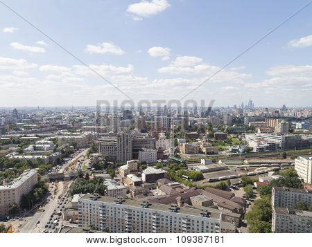 Moscow In Good Weather, Russia