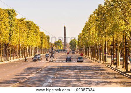 The Champs-Elysees, Paris