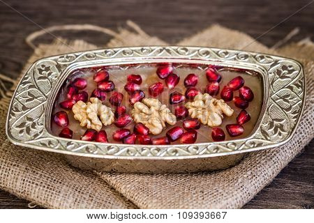 Traditional Turkish Dessert Ashure