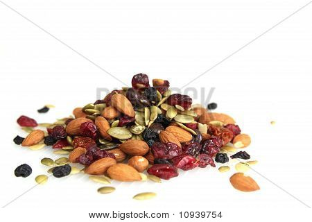 Trail Nuts And Dry Fruits