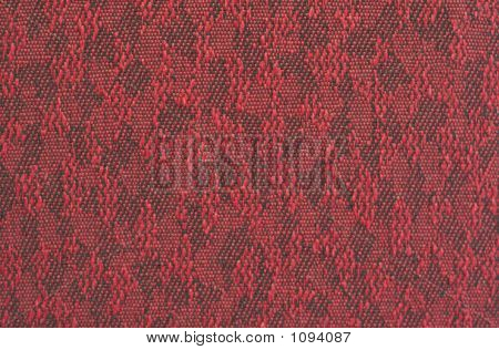 Red & Black Fabric Texture