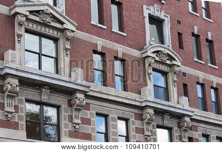 Historic District Architecture Details, New York City,USA