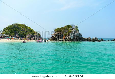 Khai Nok Island Is One Of The Most Famous Island In Thailand.