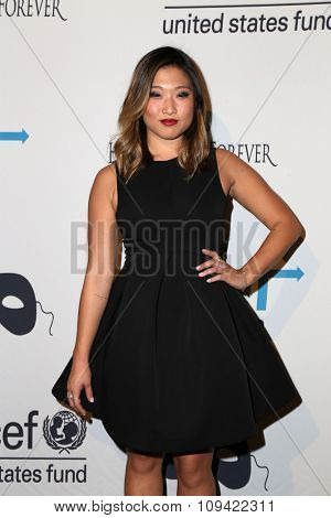 LOS ANGELES - OCT 30:  Jenna Ushkowitz at the 2nd Annual UNICEF Masquerade Ball at the Hollywood Forever on October 30, 2014 in Los Angeles, CA