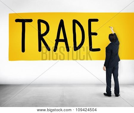 Trade Marketing Commercial Merchandise Concept poster