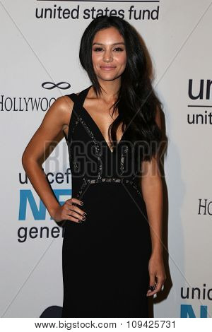 LOS ANGELES - OCT 30:  Bianca A Santos at the 2nd Annual UNICEF Masquerade Ball at the Hollywood Forever on October 30, 2014 in Los Angeles, CA