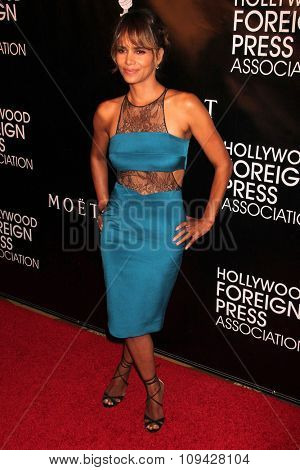LOS ANGELES - AUG 13:  Halle Berry at the HFPA Hosts Annual Grants Banquet - Arrivals at the Beverly Wilshire Hotel on August 13, 2015 in Beverly Hills, CA