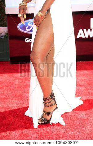 LOS ANGELES - JUN 29:  Sevyn Streeter at the 2014 BET Awards - Arrivals at the Nokia Theater at LA Live on June 29, 2014 in Los Angeles, CA