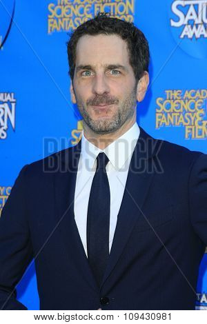 LOS ANGELES - JUN 25:  Aaron Abrams at the 41st Annual Saturn Awards Arrivals at the The Castaways on June 25, 2015 in Burbank, CA