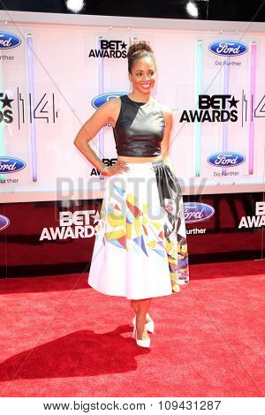 LOS ANGELES - JUN 29:  Latarsha Rose at the 2014 BET Awards - Arrivals at the Nokia Theater at LA Live on June 29, 2014 in Los Angeles, CA