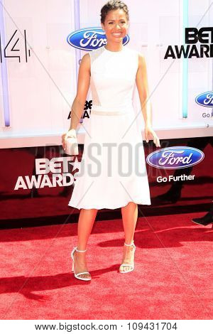 LOS ANGELES - JUN 29:  Gugu Mbatha-Raw at the 2014 BET Awards - Arrivals at the Nokia Theater at LA Live on June 29, 2014 in Los Angeles, CA