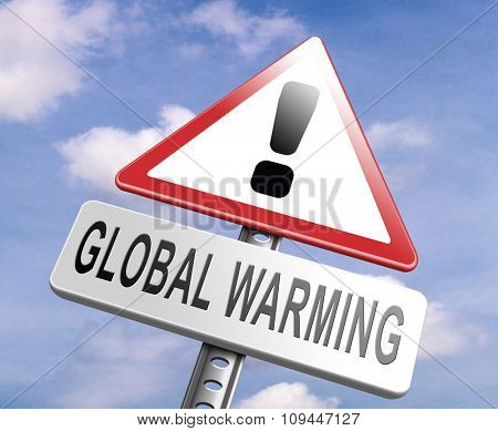 stop global warming and climate change carbon neutral go green energy solar or wind power  green house effect no pollution poster