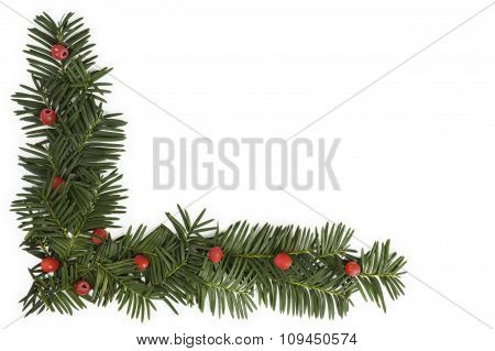 Christmas Background With Copy space.