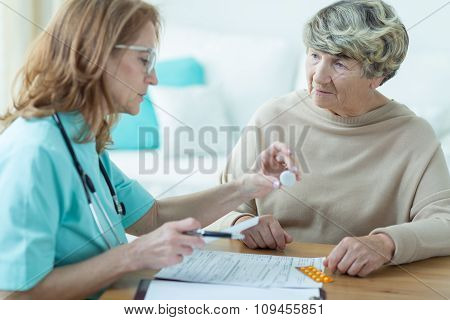 Physician Prescribing Medicament