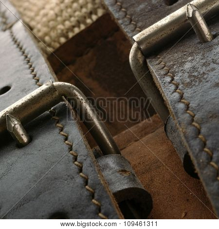 leather belt-detail