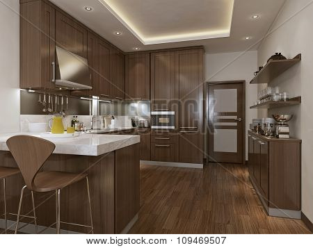 Kitchen Neoclassical Style