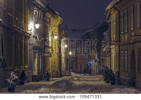 Winter Street View