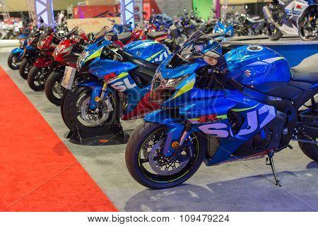 Suzuki Motorcycles Stand