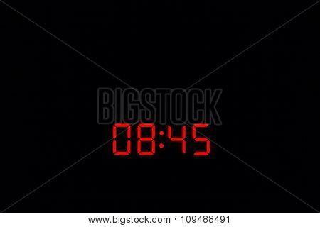 Digital Watch 08:45
