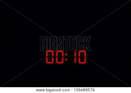 Digital Watch 00:10