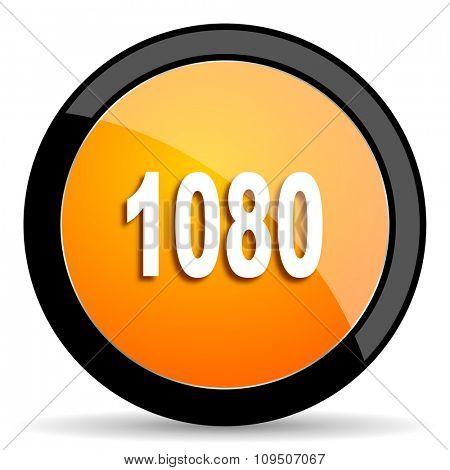 1080 orange icon