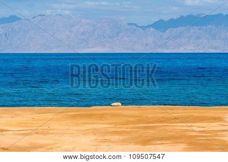 Coast Of Gulf Of Aqaba